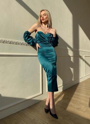 Корсетное платье {арт. 2516}4 фото