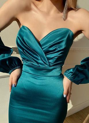 Корсетное платье {арт. 2516}7 фото