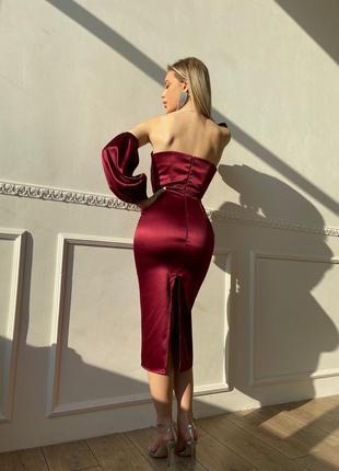 Корсетное платье (арт. 2516)3 фото