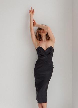 Корсетное платье (арт. 2516)2 фото