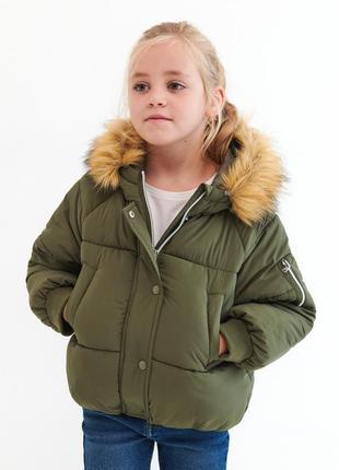 Крутая демисезонная куртка на синтепоне для девочки reserved