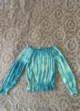 Блуза с паетками aron