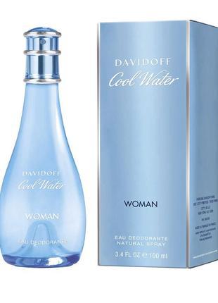 Тулетная вода davidoff cool water духи