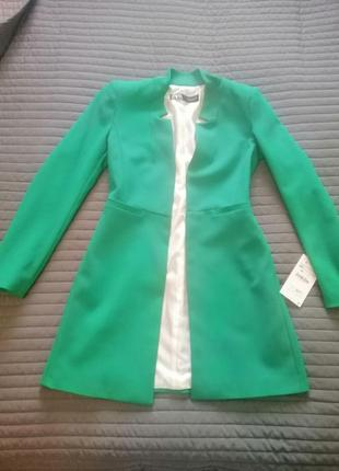 Пальто-піджак zara