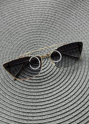 Ретро очки солнцезащитные, женские