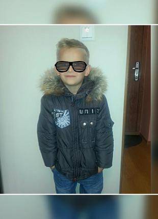 Зимняя куртка для мальчика sunnybunny