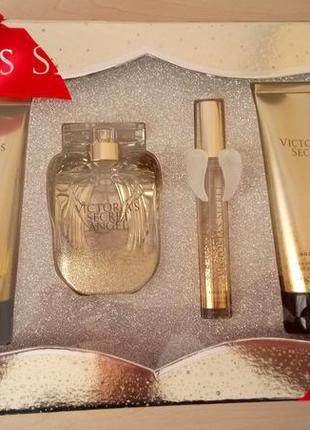 Подарочный набор victoria's secret angel gold