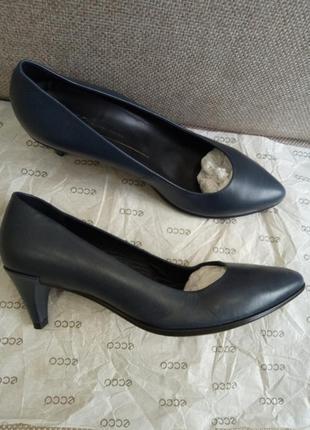 Шкіряні лодочки туфлі ecco shape 💣 оригінал
