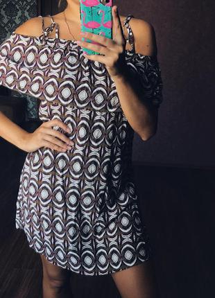 H&m сарафан платье