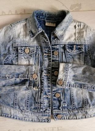 Джинсовый пиджак next