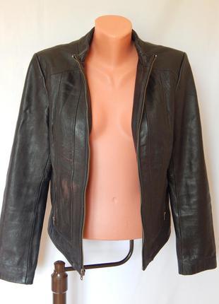 Кожанная куртка kenneth cole reaction(размер 38)