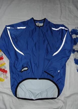 Велодождевик мужская сверхлегкая куртка  b'twin р l/180/100a -новое