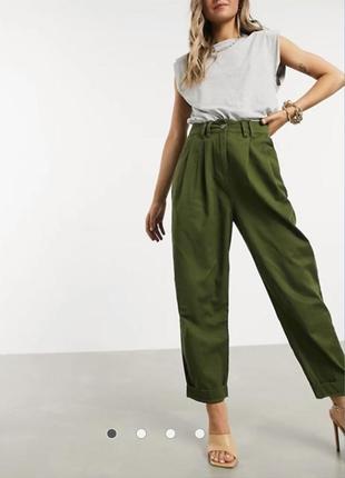 Свободные штаны женские с карманами