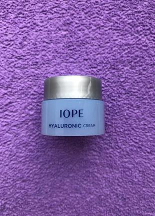 Пробник крема с гиалуроновой кислотой iope hyaluronic cream sample, 5мл