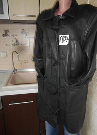 Распродажа 1+1=3#giovanni#винтажная крутая куртка 100% лайковая кожа # большой размер 20#