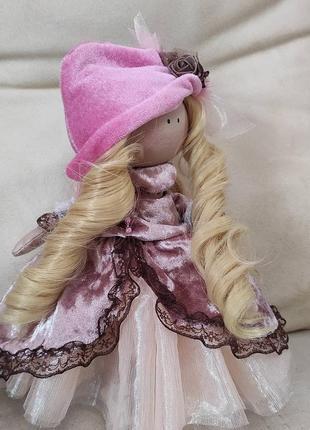 Хенд мейд!!! интерьерная кукла ручной работы