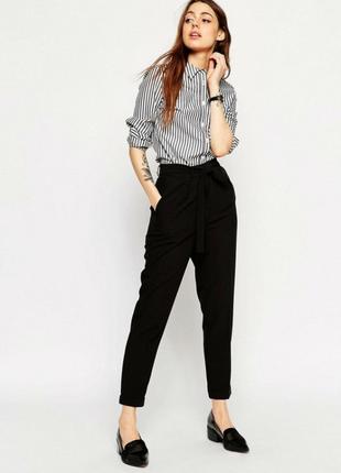 Брюки офисные классические штаны чёрные