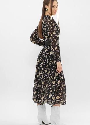 Стильное платье - принт (расцветки)3 фото