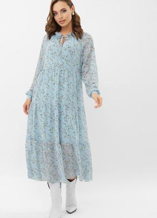 Стильное платье - принт (расцветки)