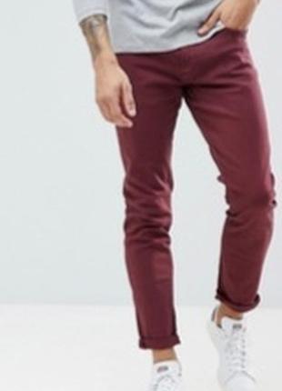 Коттоновые плотные брюки чиносы джинсы charles tyrwhitt