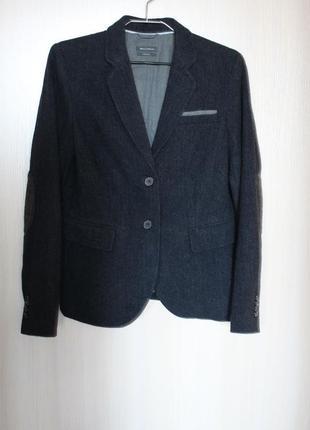 Пиджак блейзер marc o polo шерсть cozy wool 100% сток новый