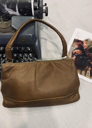 Кожаная сумка из 50-х