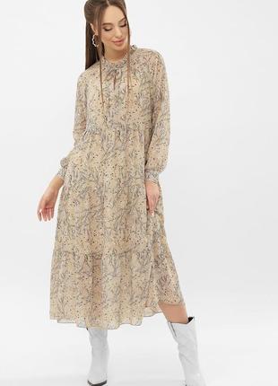 Красивенное платье с поясом