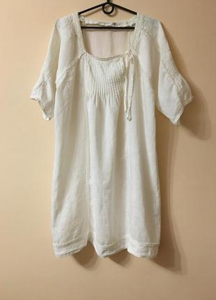 Льняное платье part two