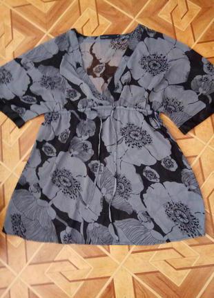 Легкая летняя  футболка  kappahl