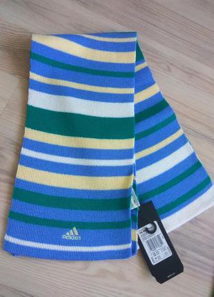 Шерстяной шарф adidas,  оригинал