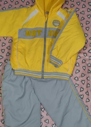 Демисезонный костюм на мальчика 1-2 годика