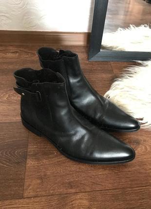 Мужские винтажные ботинки boss