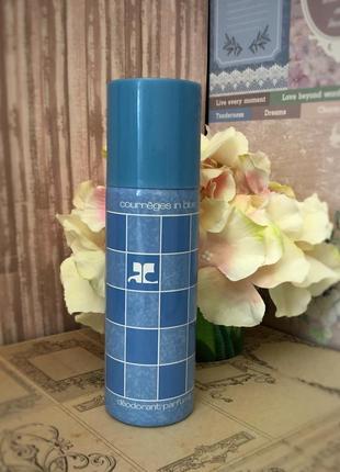 Courreges courreges in blue, дезодорант, стародел