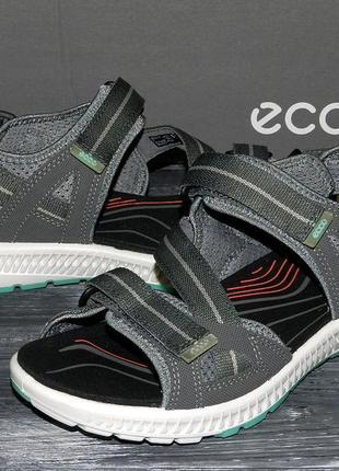 Ecco terra sandal оригинальные, стильные невероятно крутые сандалии