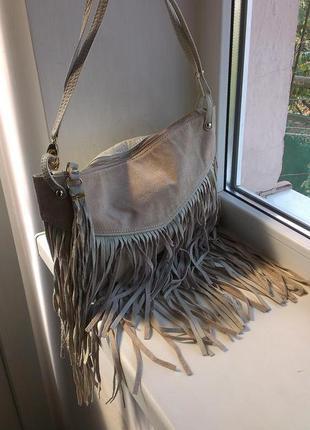 Кожаная сумка river island2