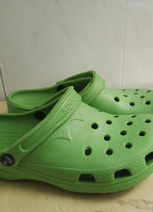 Тапочки кроксы, crocs 39-40 размер