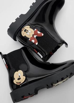 Ботінки для дівчинки zara черевички