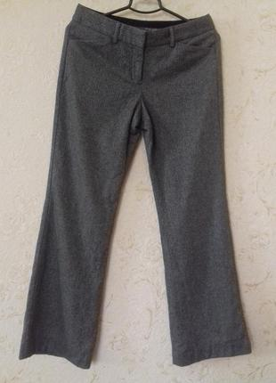 Теплые шерстяные брюки с подкладкой. 42 размер