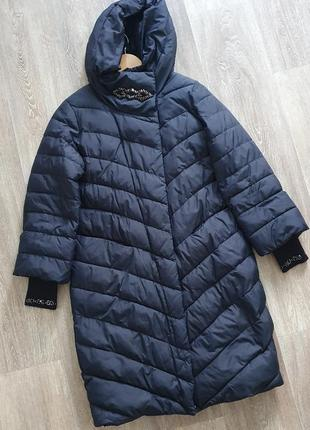 Зимнее пальто кокон s