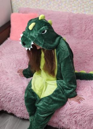 Розпродаж кигуруми кігурумі пижамы детские костюмы динозавр дракон крокодил