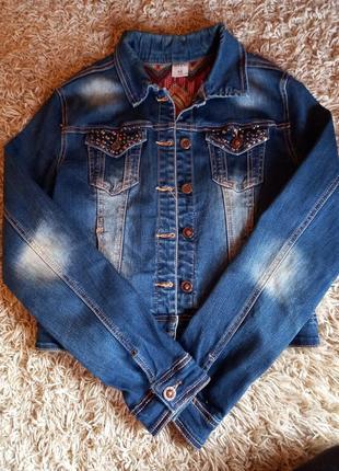 Джинсовка/джинсовая кофта