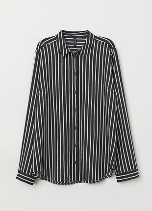 Женская блуза в полоску h&m размер s - 42