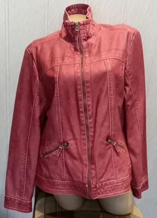 Куртка женская gina benotti евро размер 46