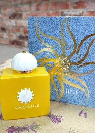 Amouage sunshine оригинал_eau de parfum 3 мл затест_парфюм.вода