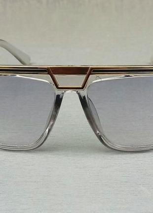 Cazal очки женские серые с легким градиентным затемнением