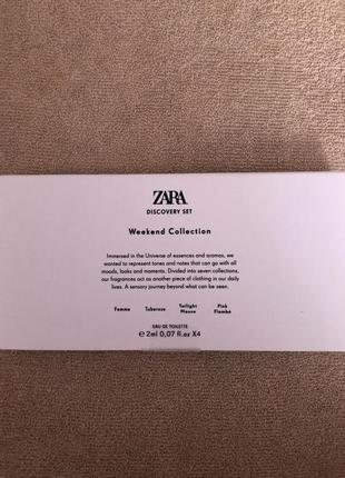 Набір пробників жіночих парфумів zara