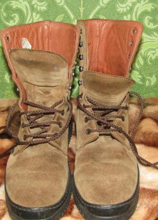 Ботинки замшевые fred de la bretoniere