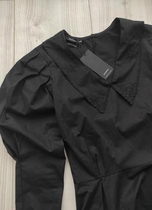 Блуза с воротником, рубашка с пишним рукавом, блузка з комірцем, сорочка