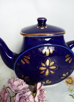 Чайник - заварник кобальт