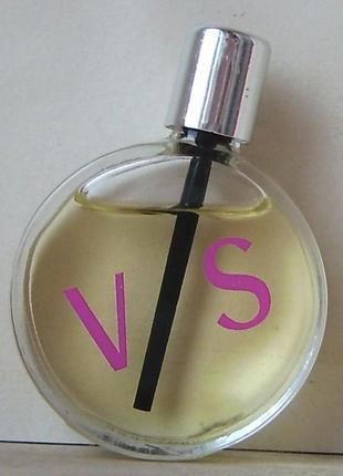 V / s versus versace - edt - 5 мл. оригінал. вінтаж